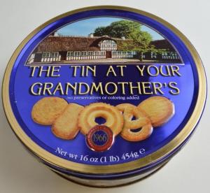 Tin At Your Grandmother's Cookies